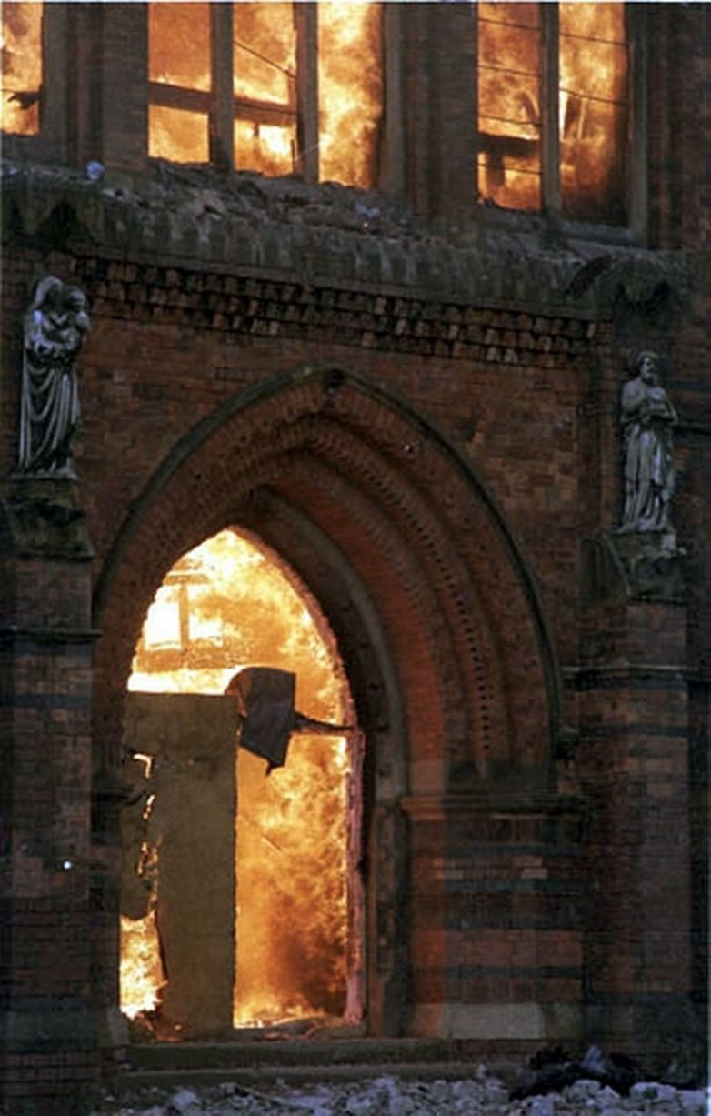 Cathedral Fire